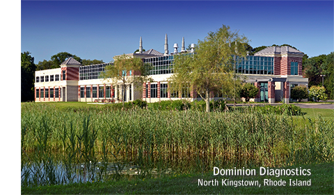 Dominion Diagnostics, North Kingstown RI Headquarters